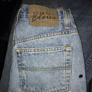 Vintage express bleus jeans